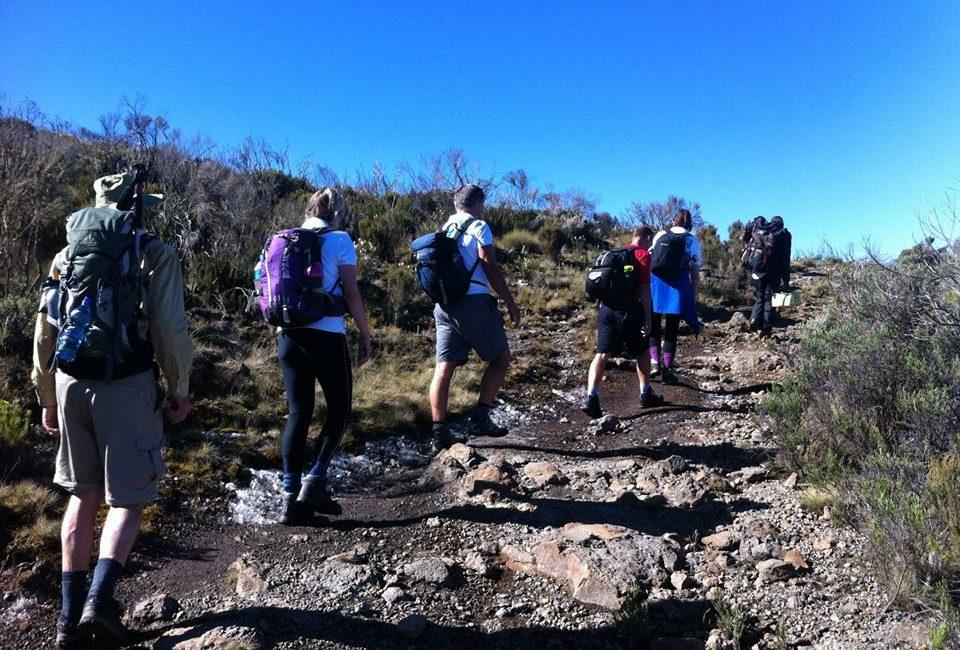 Climbing Mt Kenya- 4 days Sirimon